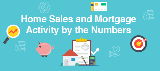 Home Sales and Mortgage Activity by the Numbers