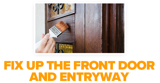 Fix Up the Front Door and Entryway