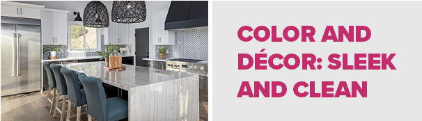 Color and Décor: Sleek and Clean