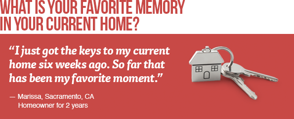 What is your favorite memory in your current home?